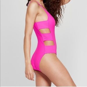 Mossimo Hot Pink Swimsuit.